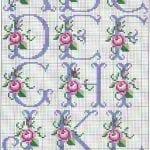 Kanaviçe Gül Desenleri 8