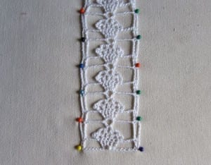 Kapkek Dantel Havlu Kenarı Modeli Yapılışı 8