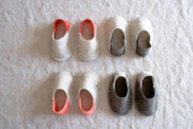 Keçe Bebek Terlik Yapılışı 2