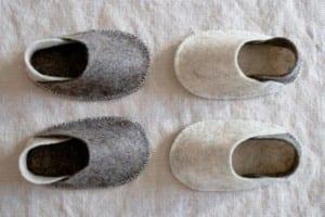 Keçe Bebek Terlik Yapılışı