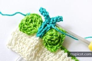 Kelebekli Bebek Battaniyesi Yapılışı 15