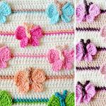 Kelebekli Bebek Battaniyesi Yapılışı 32