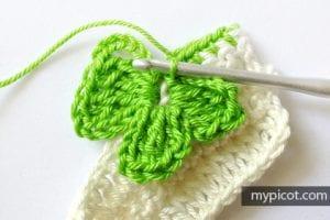 Kelebekli Bebek Battaniyesi Yapılışı 5