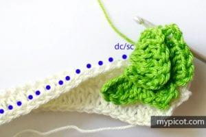 Kelebekli Bebek Battaniyesi Yapılışı 7
