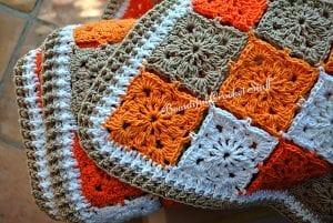 Motifli Bebek Battaniyesi Yapılışı 3