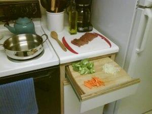 Mutfak Dolapları için Pratik Fikirler