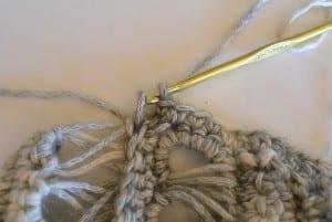 Oklava Örgü Modeli Kısa Kollu Bluz Yapılışı 10