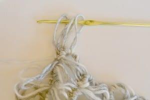 Oklava Örgü Modeli Kısa Kollu Bluz Yapılışı 3