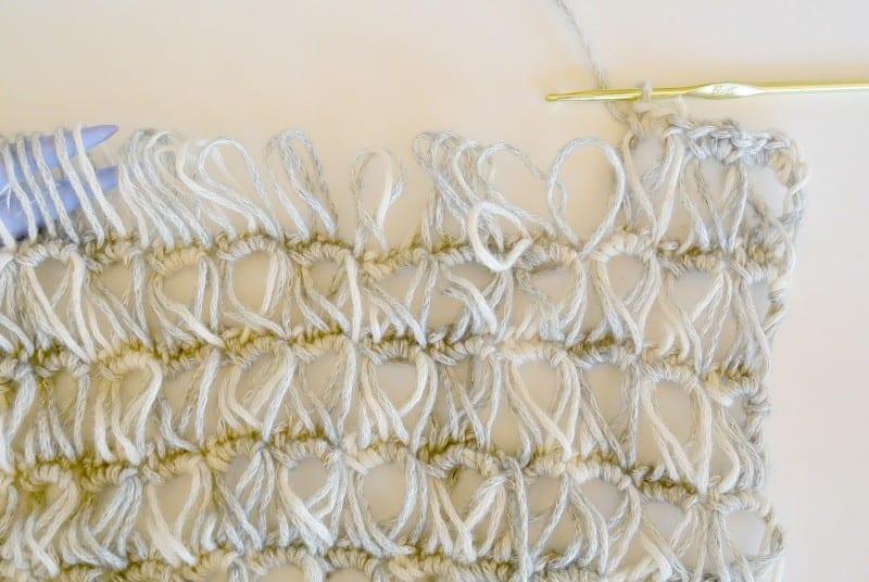 Oklava Örgü Modeli Kısa Kollu Bluz Yapılışı 5
