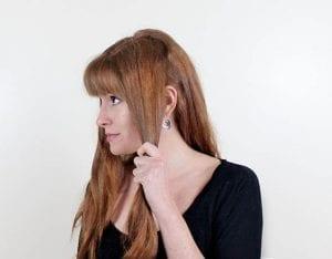 Örgü ile Romantik Saç Modeli Yapılışı 4
