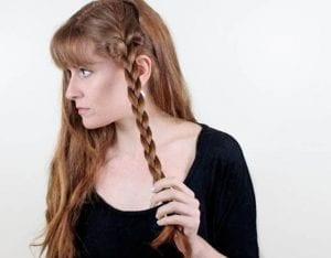 Örgü ile Romantik Saç Modeli Yapılışı 6