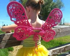 Örgü Kelebek Kanadı Nasıl Yapılır? 7