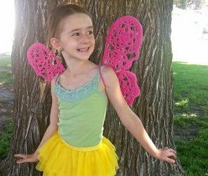 Örgü Kelebek Kanadı Nasıl Yapılır? 8