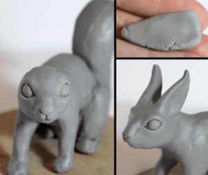 Polimer Kil ile Sevimli Hayvan Figürü Yapımı 11