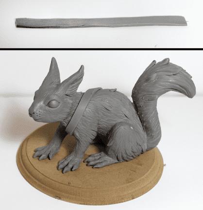Polimer Kil ile Sevimli Hayvan Figürü Yapımı 16