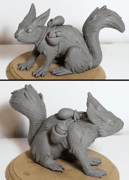 Polimer Kil ile Sevimli Hayvan Figürü Yapımı 18