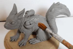 Polimer Kil ile Sevimli Hayvan Figürü Yapımı 19
