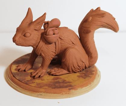 Polimer Kil ile Sevimli Hayvan Figürü Yapımı 21