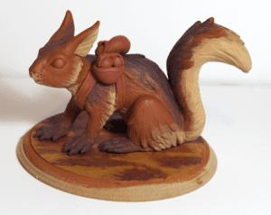 Polimer Kil ile Sevimli Hayvan Figürü Yapımı 22