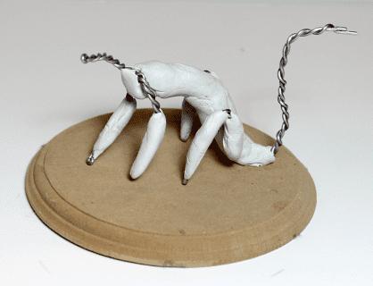 Polimer Kil ile Sevimli Hayvan Figürü Yapımı 3
