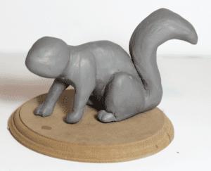 Polimer Kil ile Sevimli Hayvan Figürü Yapımı 8