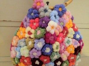 Videolu, Çiçek Motifli Bebek Battaniyesi Yapılışı 16