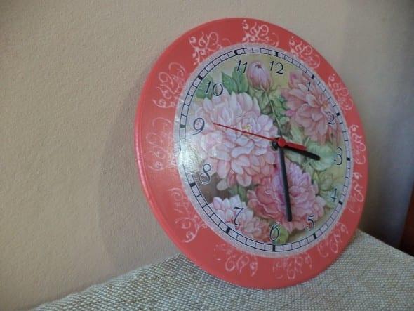 Videolu, Dekoratif Saat Modelleri ve Yapılışı 10