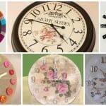 Videolu, Dekoratif Saat Modelleri ve Yapılışı 12