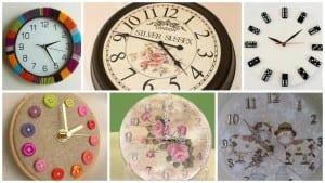 Videolu, Dekoratif Saat Modelleri ve Yapılışı