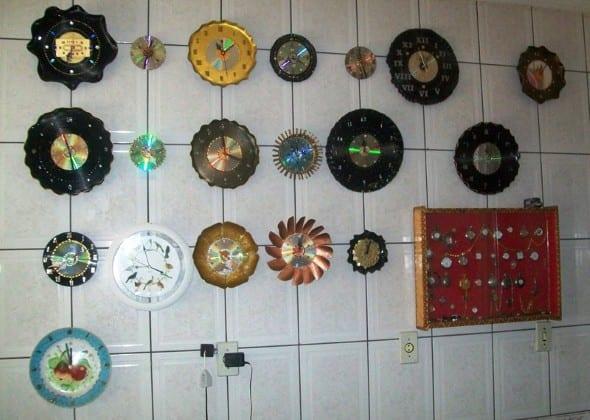 Videolu, Dekoratif Saat Modelleri ve Yapılışı 5