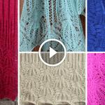 Videolu, Şiş Örgü Çiçek Bluz Modeli Yapılışı 41