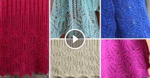 Videolu, Şiş Örgü Çiçek Bluz Modeli Yapılışı