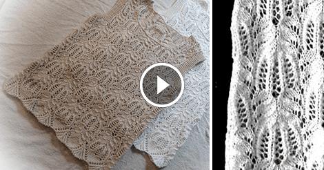 Videolu, Şiş Örgü Çiçek Bluz Modeli Yapılışı 5