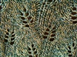Yaprak Desenli Bebek Battaniyesi Yapılışı 3