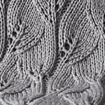Yaprak Desenli Bebek Battaniyesi Yapılışı 8
