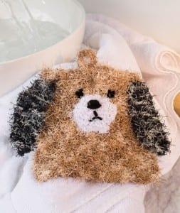 Yavru Köpek Banyo Lifi Yapılışı