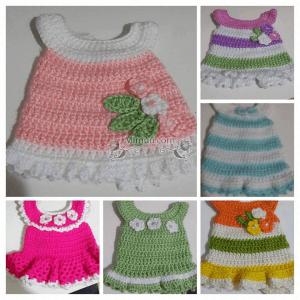 Amigurumi Bebek Elbise Modelleri 1