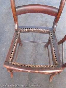 Adım Adım Sandalye Geri Dönüşüm 1