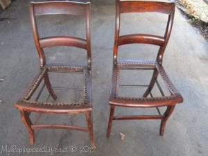 Adım Adım Sandalye Geri Dönüşüm 2
