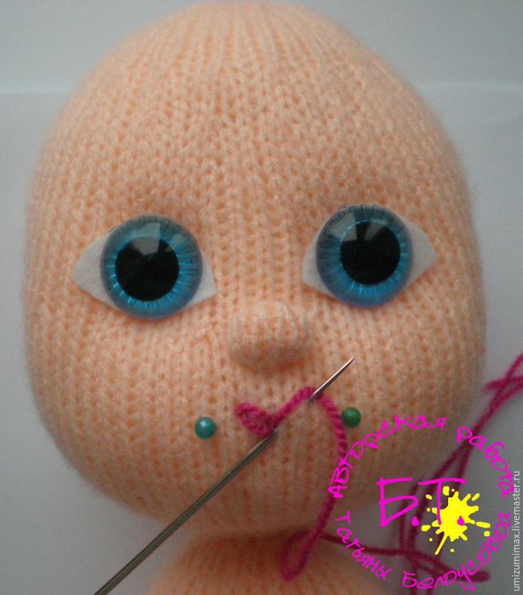 Amigurumide Bebek Yüzü Şekillendirme. - YouTube   864x760