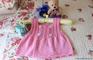 Bebek Örgü Yelek Modelleri Anlatımlı 2