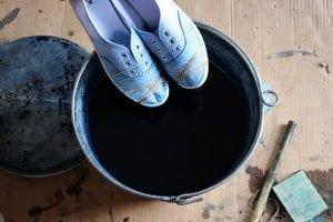 Bez Ayakkabı Nasıl Boyanır? 10
