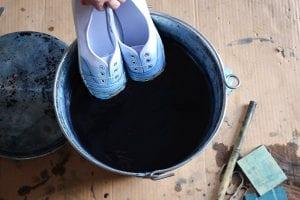Bez Ayakkabı Nasıl Boyanır? 11