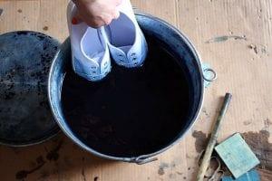 Bez Ayakkabı Nasıl Boyanır? 12
