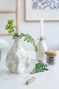 DIY, Cam Şişeden Dekoratif Vazo Yapımı