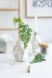 DIY, Cam Şişeden Dekoratif Vazo Yapımı 3
