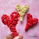 DIY, Hasır Kalp Nasıl Yapılır? 3