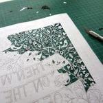 Kağıt Kesme Sanatı Örnekleri 38