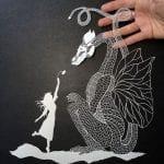 Kağıt Kesme Sanatı Örnekleri 44