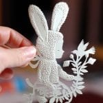 Kağıt Kesme Sanatı Örnekleri 50